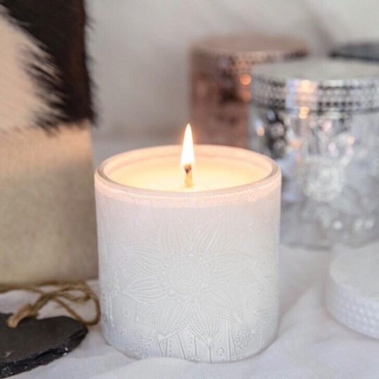White Lotus Soy Candles - Watermelon and Lemonade