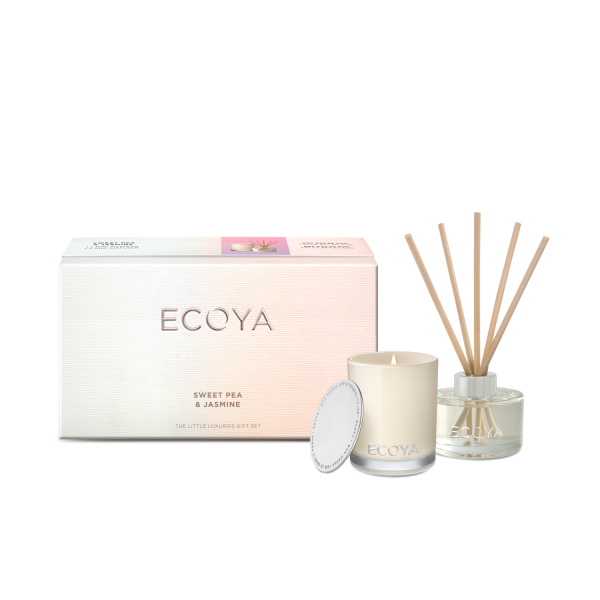 Ecoya - Sweet Pea & Jasmine Little Luxuries Gift Set